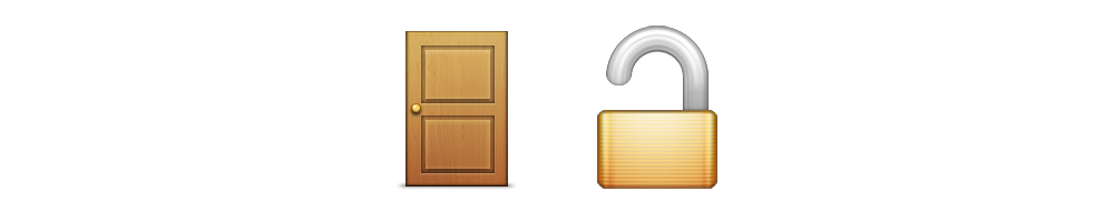 Door Is Unlocked  sc 1 st  Emoji Meanings : door emoji - pezcame.com