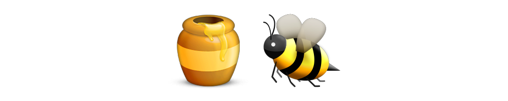 Honey Bee | Emoji Meanings | Emoji Stories