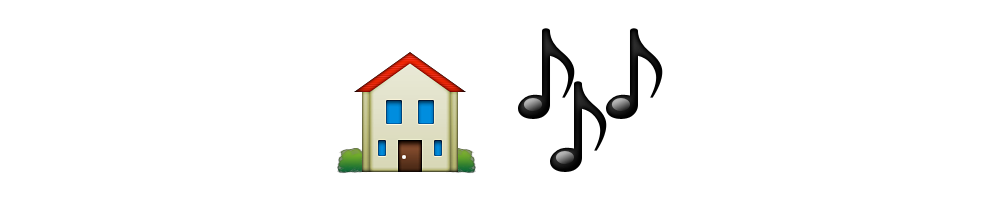 Image gallery music emoji for House music symbol