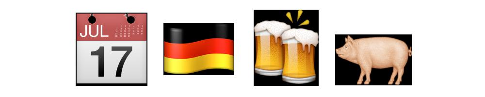 oktoberfest on emoji xpress